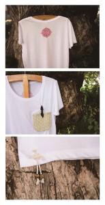 1 parts shiryudoh Tshirts white ladys
