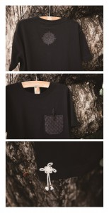 2 parts shiryudoh Tshirts black