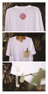 4 parts shiryudoh Tshirts white