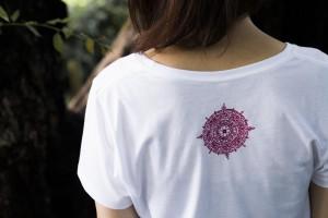 shiryudoh Tshirts ladys back